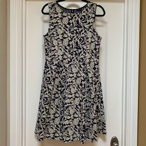 Ann Taylor Tapestry Dress